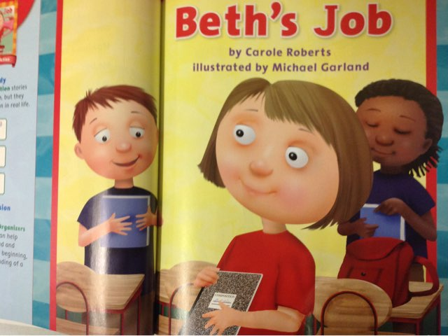 Beth's Job By JJ by Lindsey Roberts-Walstrom