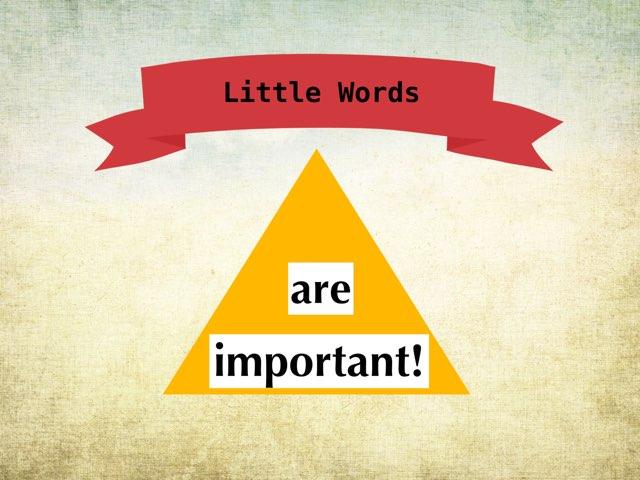 Big Little Words! by Shelly Wemhoener