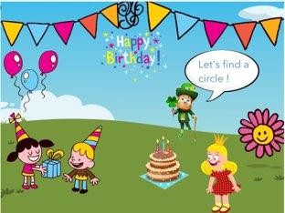 Birthday Shapes  by Maria Ponsoda