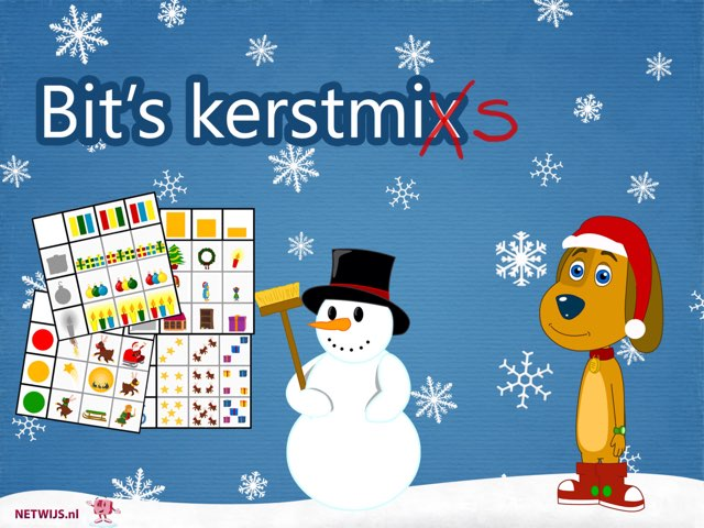 Bit's Kerstmix matrix by Bit Netwijs