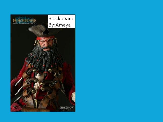Blackbeard By Amaya by Jane Miller _ Staff - FuquayVarinaE