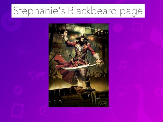 Blackbeard by Jane Miller _ Staff - FuquayVarinaE