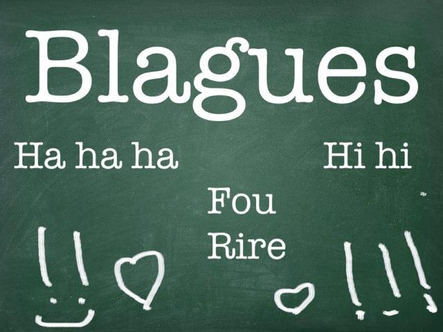 Blagues by Estelle Dib