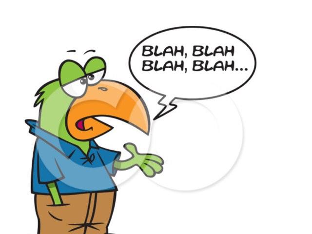 Blah Blah by uri lazar
