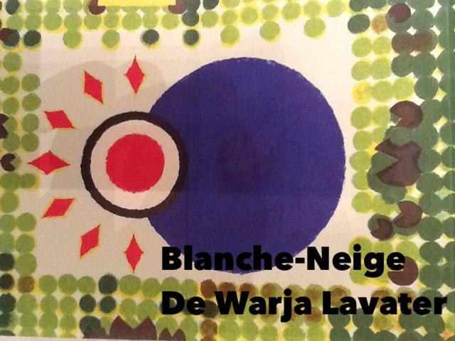 Blanche-Neige, warja lavater by Alice Turpin