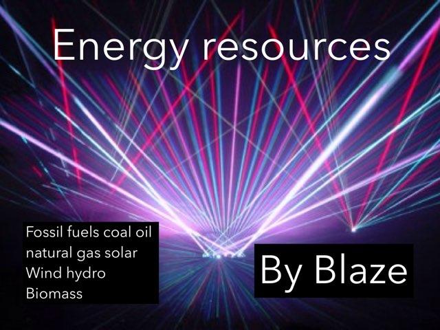 Blaze Energy by Melissa Durkin