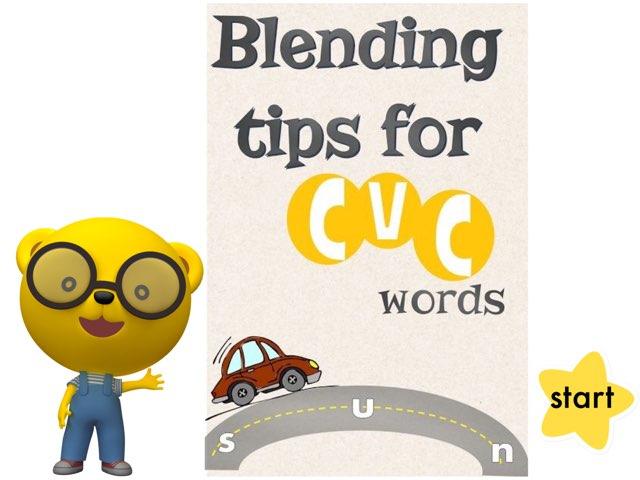 Blending Cvc Words by Safaa Mohamed
