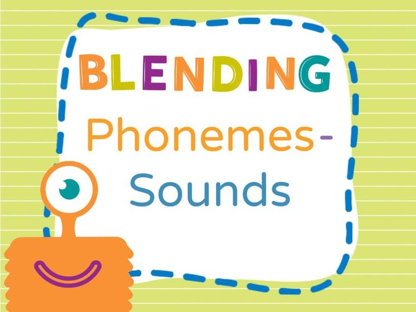 Blending Segmented Words by Jennifer