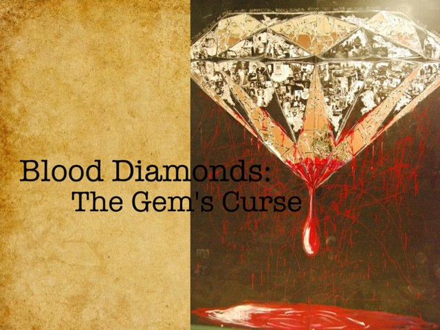 Blood Diamonds by Cait Pringle