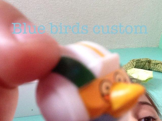 Blue Birds Custom by Gugus Ibuas