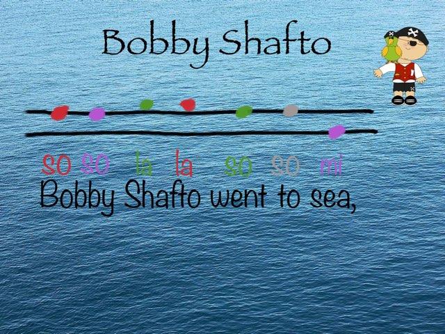 Bobby Shafto: 2-line notation by Drew Kunkel