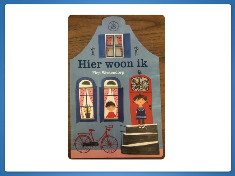 Boek: Hier woon ik by J. de Globe