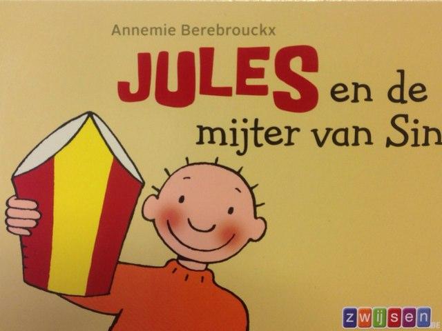 Boekje Jules En De Mijter Van Sint -interactief by Wilma DeVente