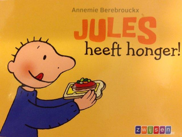 Boekje Jules Heeft Honger by Wilma DeVente