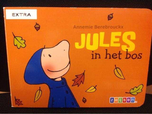 Boekje Jules In het bos by Wilma DeVente