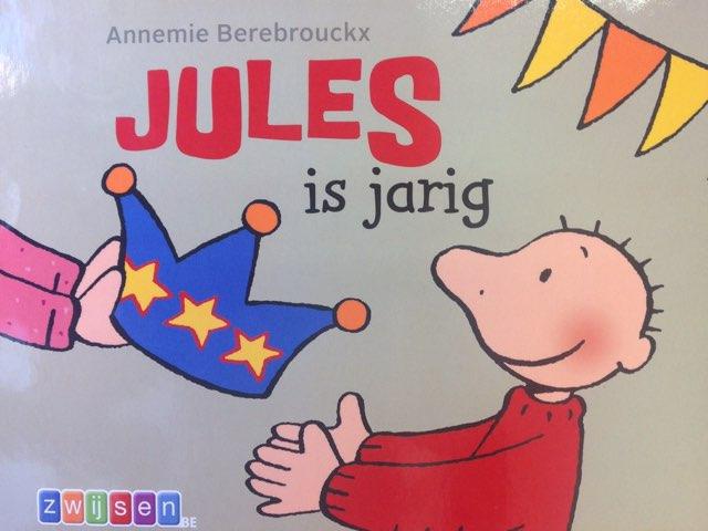 Boekje Jules Is Jarig by Wilma DeVente