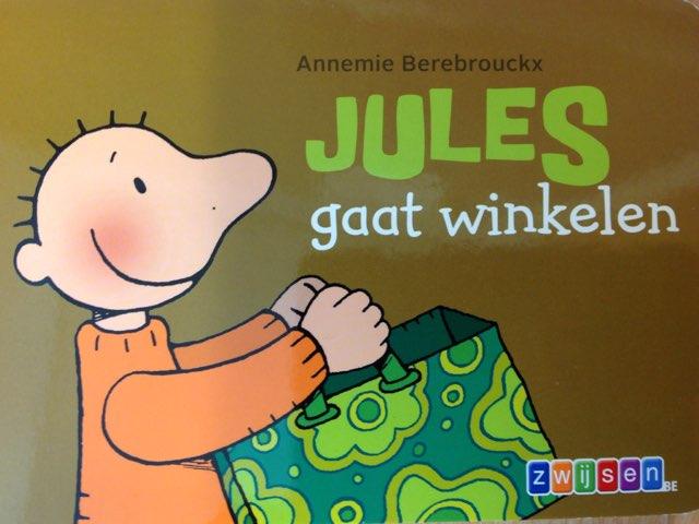 Boekje Jules gaat winkelen by Wilma DeVente