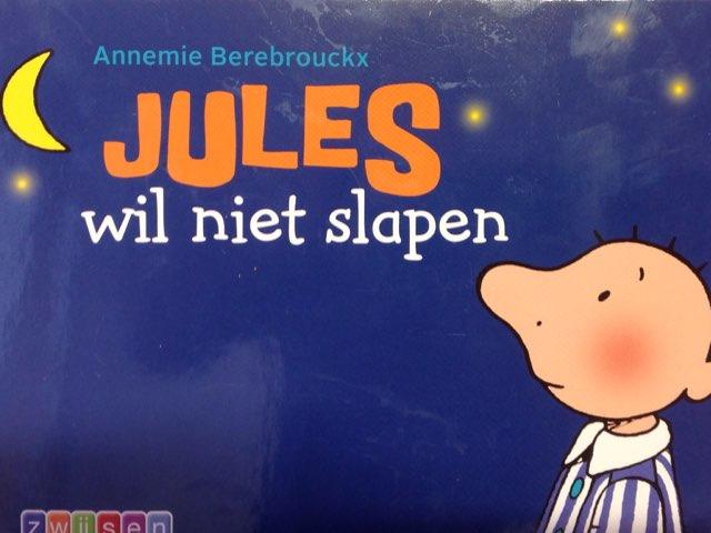 Boekje Jules wil niet slapen by Wilma DeVente
