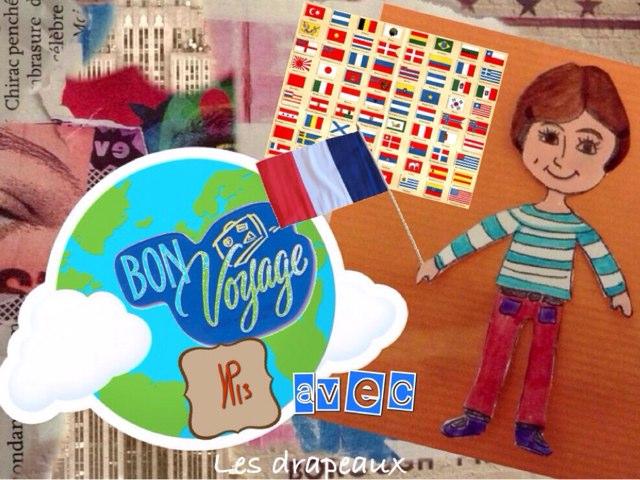 Bon Voyage avec Les drapeaux ! by Ni Digicrea