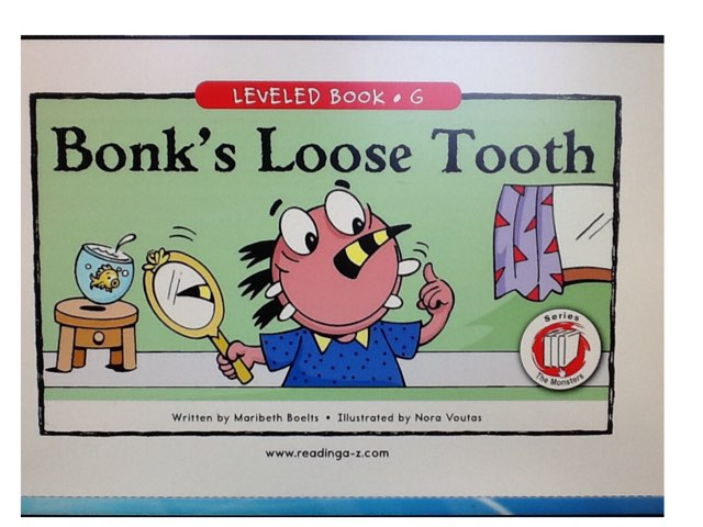 Bonk's Loose Tooth by Bethany Hentgen