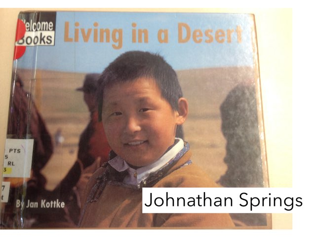 Book Report: Living In A Desert By Johnathan S, by Christine Snow