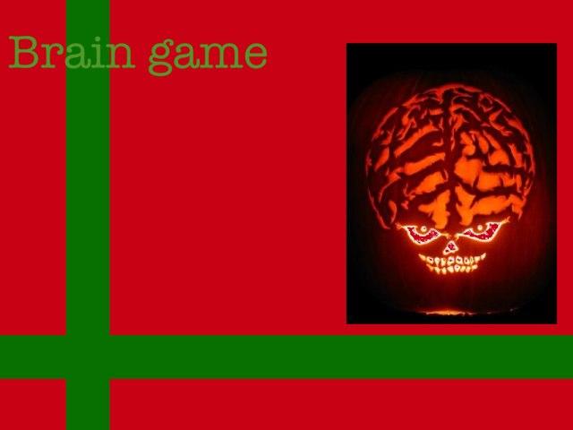 Brain Game Belgium Level 2 by Miss Doig