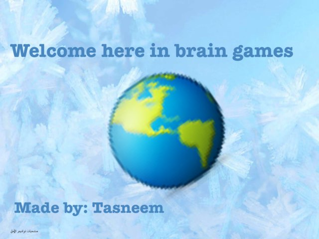 Brain Games by Tasneem Alamora