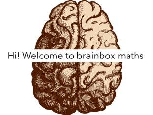 Brainbox Maths by Miss Howard