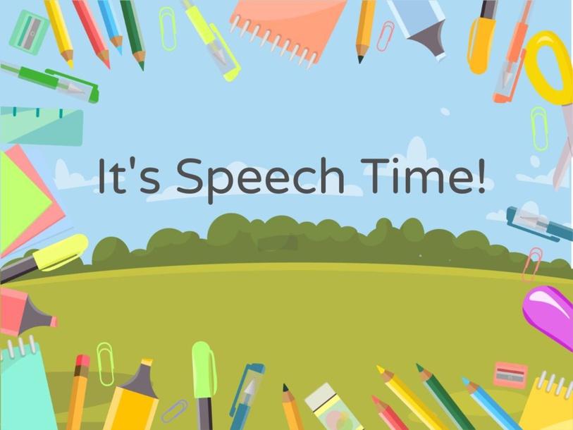 Branndon's Speech Session by Maria Custodio
