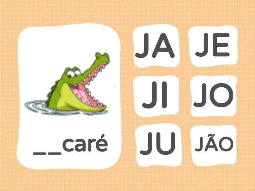 Brincando com a letra J by sabrina lamonica