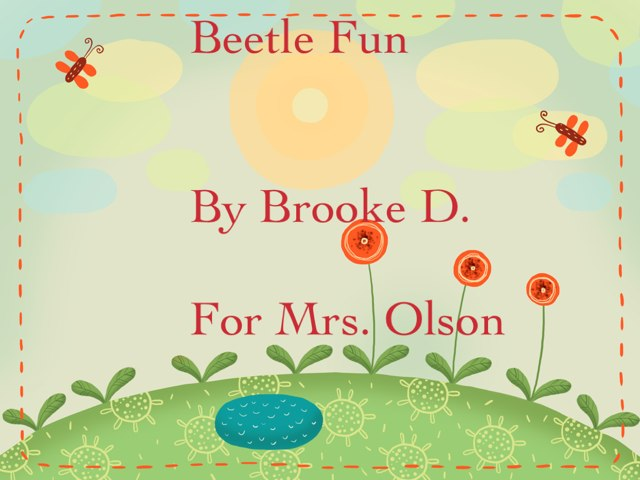 Brook's Beetle Project by Stephanie Olson