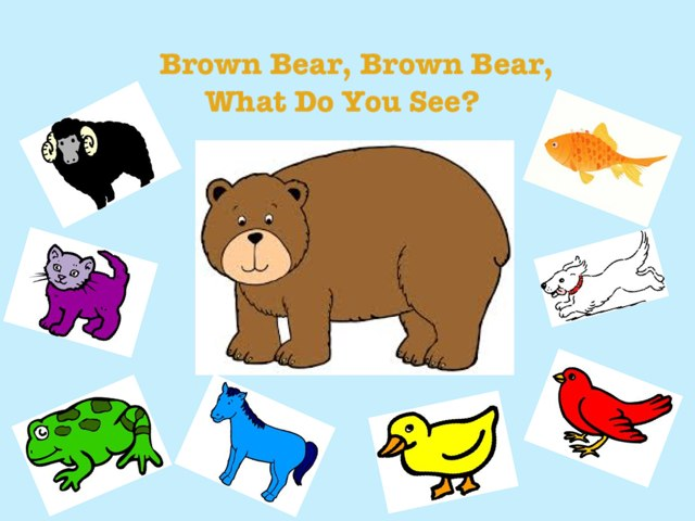 Brown Bear, Brown Bear, What Do You See? by Ana Vivanco