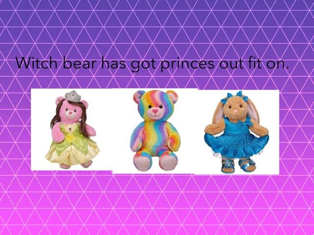 Build A Bear Quiz by StBarts PrimarySchool