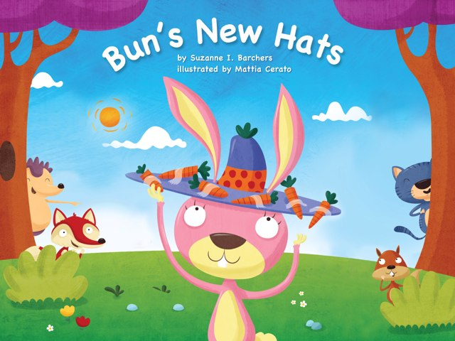 Bun's New Hats (Kiosk) by Red Chair Press