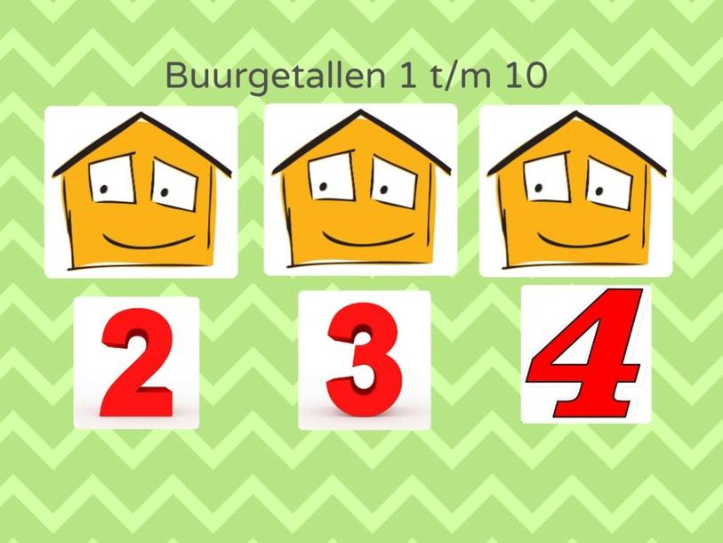 Buurgetallen t/m 10 by Annet Buunk