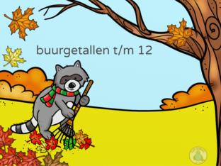 Buurgetallen t/m 12 by Ilona Visser
