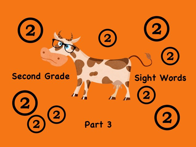 Second Grade Sight Words 3 by Ellen Weber