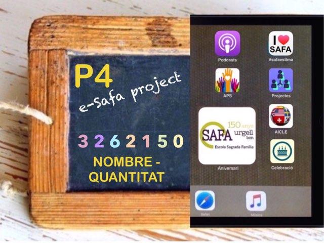 SAFAP4 - Nombre Quantitat by Meritxell Casanova