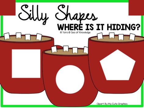 Silly Shapes Cocoa Hide & Seek by Yara Habanbou