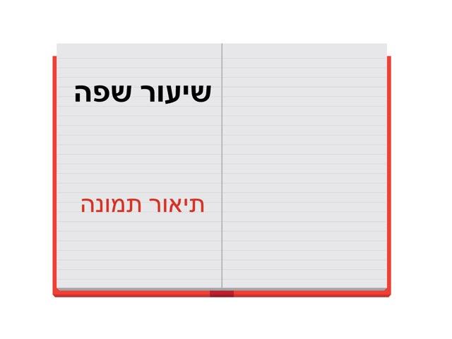 שיעור שפה- תיאור תמונה by מירית בכר