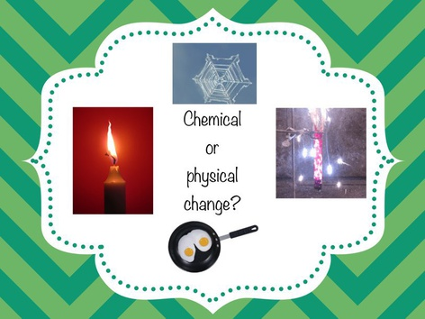 Chemical or Physical Change? by Oxana Hughes
