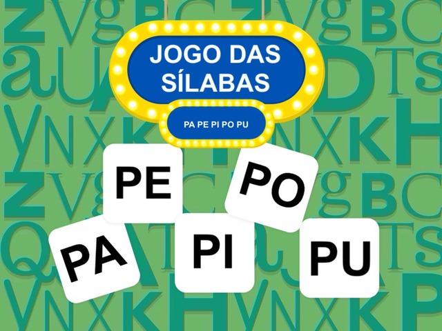 JOGO DAS SÍLABAS - PA PE PI PO PU by Tobrincando Ufrj