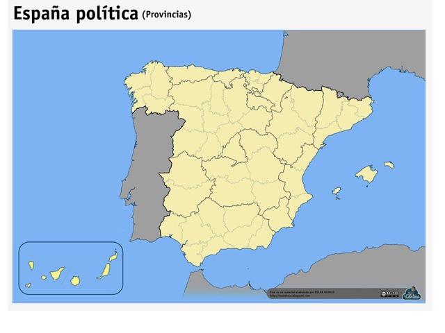 Provincias De España by Pablo Hernandez Cejudo