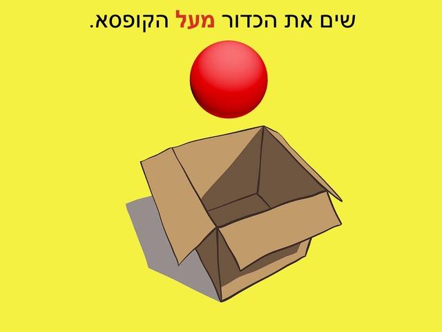 מושגי מרחב עם כדור by Chava Horowitz