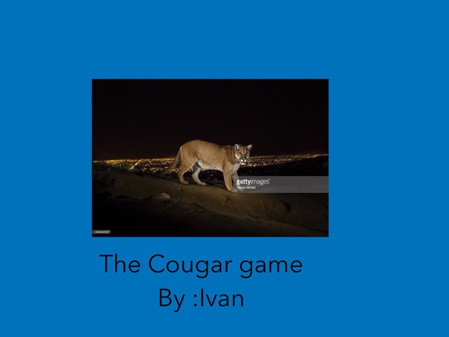 Cougars  by Hulstrom 1st Grade