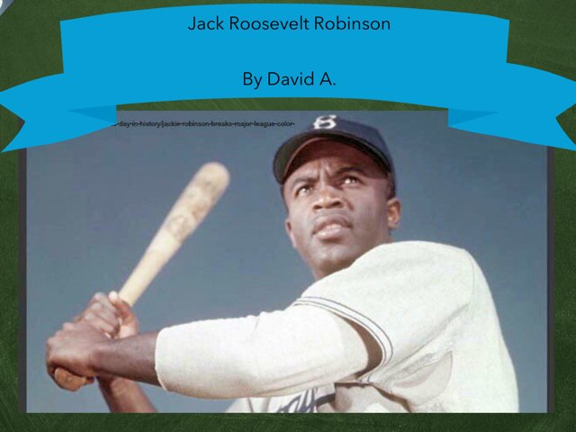 Jack Roosevelt By David .A by Christine Snow