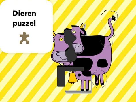 Dieren Puzzel by Mr. Puzzlez