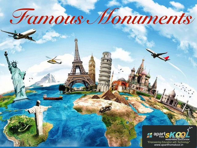 Famous Monuments by TinyTap creator