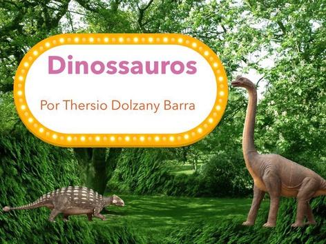 Dinossauros by Bárbara Rocco