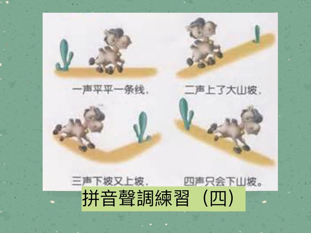 拼音聲調練習(四) by Primary Year 2 Admin